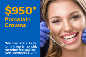 Porcelain Crowns from $950