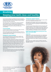 Dental Health Week Brushing