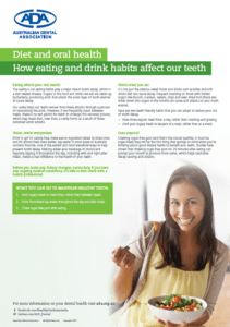Dental Health Week Diet and Oral Health